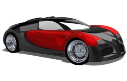 طرح کامل خودرو بوگاتی ویرون در سالیدورکس