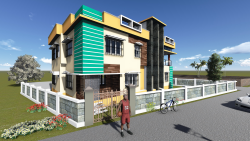 طراحی رویت ساختمان سه بعدی