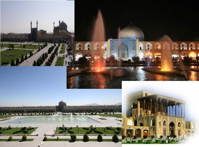پاورپوینت بررسی شیوه معماری اصفهان