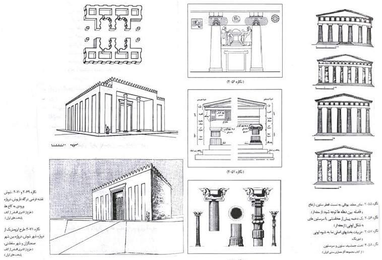 پاورپوینت بررسی شیوه معماری پارسی